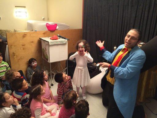 קוסם לימי הולדת לילדים
