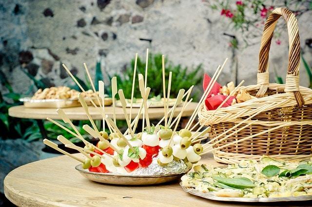 מסיבות עם כיבוד בריא